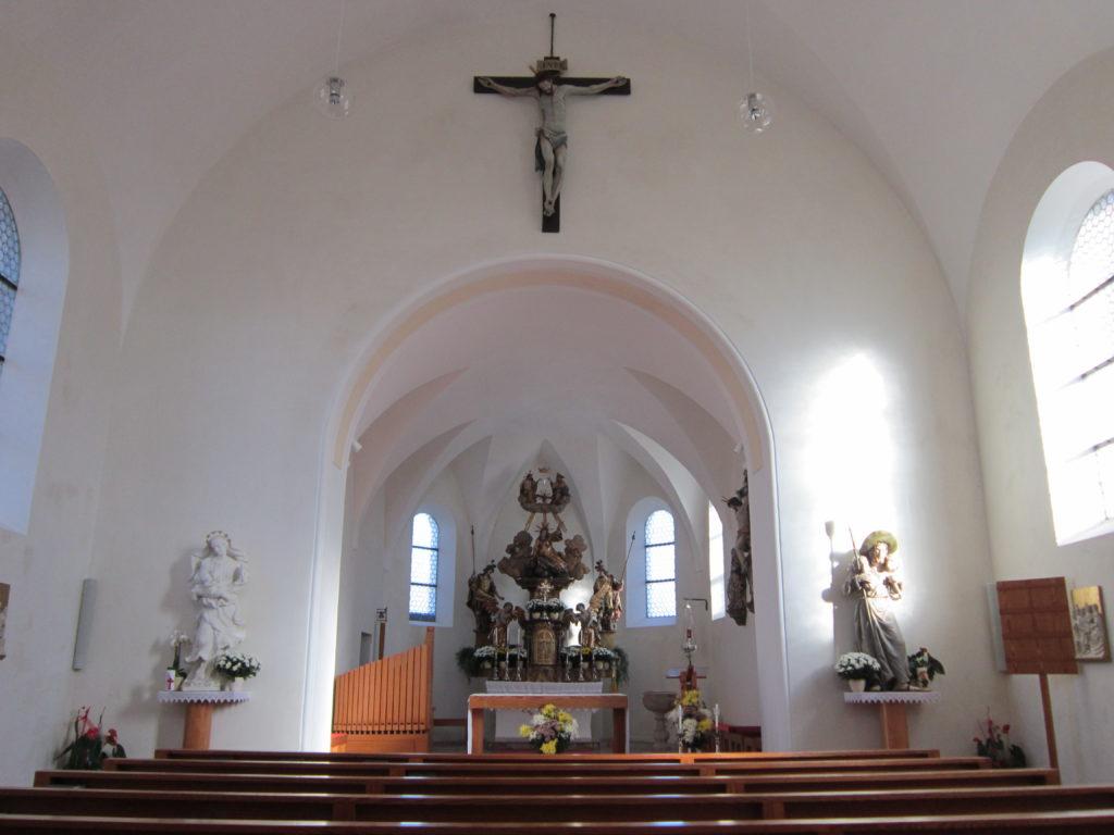 Kirchenschiff Schleedorf